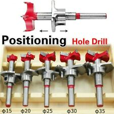 15/20/25/30/35mm Saw Kit Positioning Hole Carbide Drill Bits Woodworking Set