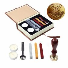 Hurry Botter Wax Seal Stamp Hogwarts School Badge Vintage Christmas Gift Set