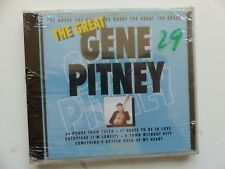 CD Album the Great GENE PITNEY      GREAT 036