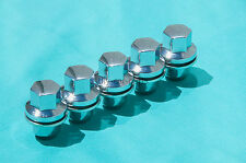 Set of 5 Chrome Land Rover Range Rover Lug Nuts For LR3 LR4 HSE Supercharged