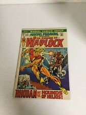 Marvel Premiere 2 Vf Very Fine 8.0 Adam Warlock