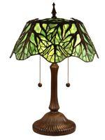 Dale Tiffany Lighting TT15176 Penelope - 2 Light Table Lamp  Antique Bronze