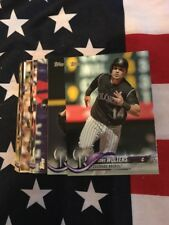 2018 Topps Colorado Rockies Team Set With Rookies And Leader Cards