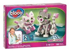 Bloco Construction Toy - Cat & kitten