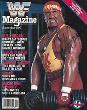 WRESTLING LEGEND HULK HOGAN SIGNED 1989 MAGAZINE HULKAMANIA WWF WCW CHAMPION
