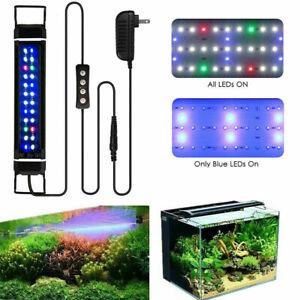 28-46 cm Aquarium LED Lighting Full Spectrum Marine Aqua Fish Tank Light