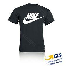 T Shirt Maglietta Uomo donna NIKE Logo stampato Cotone 100% estate 2020