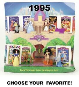 McDonald's 1995-96 Vintage Disney Masterpiece Collection VHS Figures-Choose!