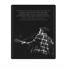 "Great One Side Printed shawn mendes lyric Blanket 58""x80"" Large"