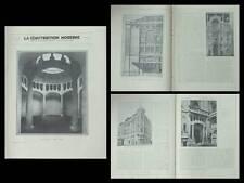 CONSTRUCTION MODERNE n°8 1931 EXPOSITION ARCHITECTURE, VIOLLET LE DUC, DE BAUDOT