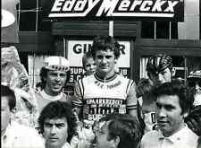 EDDY MERCKX Cyclisme Press Photo ciclismo Cycling Vermeulen luc van parijs