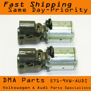 VW Audi 02E automatic trans 6 Speed DSG transmission Solenoid set