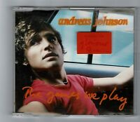 ANDREAS JOHNSON The Games We Play includes the GLORIOUs video CD Album BA