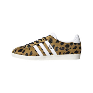 "[Adidas Originals x Noah] Gazelle OG ""Cheetah"" Shoes Sneakers - Gold(FY5378)"