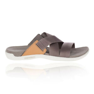 Merrell Womens District Maya Slide Shoes Sandals Grey Sports Outdoors Breathable