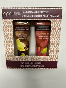 Hand Cream Therapy Set Vanilla Passion & Sweet Berries Scent
