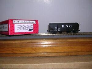 INTER/TICHY #452902  Baltimore & Ohio 36' 2-Bay R.S.Hopper Car #320839 H.O. 1/87