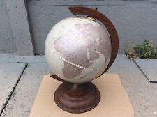 Small Wooden Desk Globe