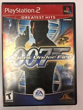James Bond 007 in Agent Under Fire Greatest Hits-Playstation 2 Game *PRE OWNED*