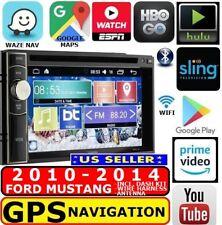 2010-2014 FORD MUSTANG GPS NAV W/ WIFI BLUETOOTH CD/DVD USB CAR RADIO STEREO