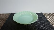 VINTAGE FIRE KING JADEITE SWIRL SHELL DEEP SOUP BOWL