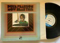 DUKE PEARSON Now Hear This BLUE NOTE LP stereo Liberty gatefold EX