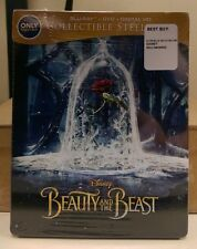 BRAND NEW BEAUTY AND THE BEAST STEELBOOK BEST BUY EXCLUSIVE FREE US SHIPPING!!