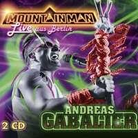 ANDREAS GABALIER  Mountain Man Live Aus Berlin (Digipak)  2 CD  NEU & OVP