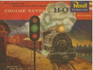1958-59 Revell HO Electric Train Catalog