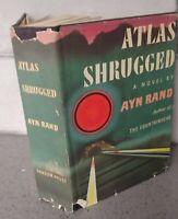 Ayn Rand ATLAS SHRUGGED 1957 1st Edition 24th Printing First HC DJ