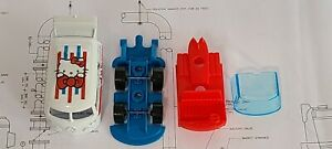 Hot Wheels Volkswagen Hello Kitty Kool Kombi *UNSPUN* OEM Wheels VW TINY NICKS