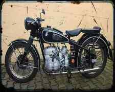 Bmw R 68 2 A4 Photo Print Motorbike Vintage Aged