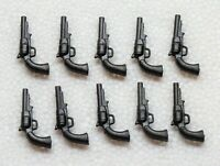 10 x REVOLVER PISTOLE Playmobil zu Cowboy Nordstaatler Südstaatler Waffe > SALE