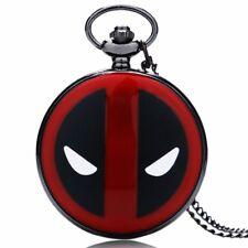New Marvel Deadpool Mask Superhero Full Hunter Necklace Chain Cosplay Gift Bag