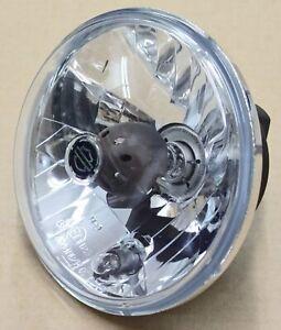 Harley Original Headlight Insert Clear Glass Headlight Reflector 5 3/4 Inch UK