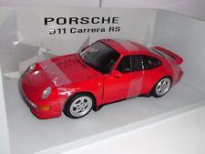 PORSCHE CARRERA RS 993 UT-MODELS RED 1:18 NEW  1994 RARE RARE