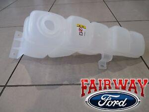 99 thru 04 Super Duty F250 F350 OEM Genuine Ford Coolant Recovery Tank Reservoir