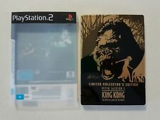 PS2 GAME - PETER JACKSON'S KING KONG - LIMITED COLLECTOR'S EDITION STEEL CASE