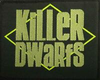 KILLER DWARFS PATCH AUFNÄHER # 1 DIRTY WEAPONS 9x7cm FLICKEN ABZEICHEN