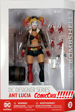 DC Bombshells ~ HARLEY QUINN ACTION FIGURE ~ DC Collectibles Ant Lucia