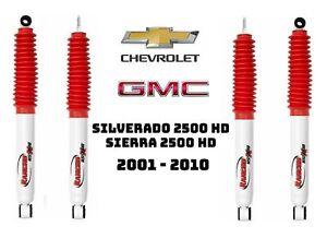 Rancho Front Rear RS5000X Shock Set for Chevy Silverado GMC Sierra 2500 HD 4WD