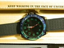 "Men's Watch Infantry Watch Co. IF-011-GR-R ""INFILTRATOR"" GREEN #s, RUBBER BAND"
