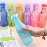 EG_ 550ML BPA Leakproof Sport Water Bottle Portable Travel Healthy Drinking Cup