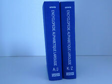 ENCYCLOPEDIE ALPHABETIQUE LAROUSSE EN 2 VOLUMES CIRCA 1977 OMNIS