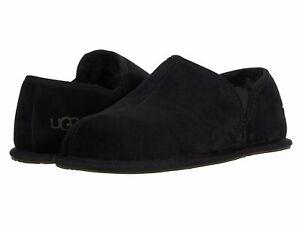 [1113630-BLK] UGG Men's Scuff Romeo II Moccasin Suede Slippers Black *NEW*