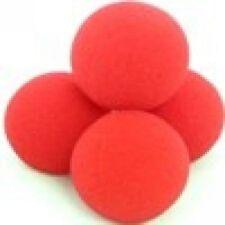 2 inch Red Goshman Sponge Ball x4