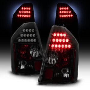 [DARKEST SMOKE] 2005-2007 Chrysler 300C SRT8 LED Tail Lights Lamps Replacement