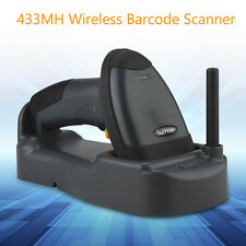 1pcs SH-3000 Wireless Barcode Scanner USB Reader With Base High Performance Scan