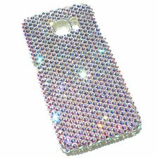For Samsung Galaxy S6 Crystal AB Bling Back Case made w/ Crystals from Swarovski