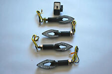 SET OF 4 LED INDICATORS WITH FREE 2 PIN LED RELAY FOR HONDA CBR125 ALL YEARS